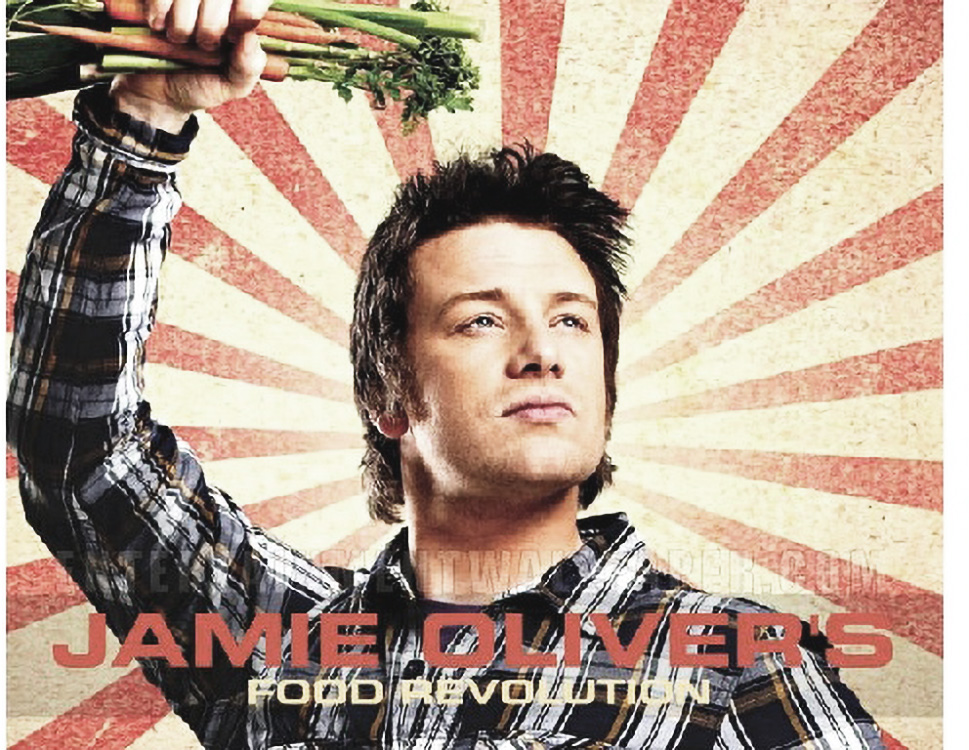 Jamie Oliver takes a step against the Obesity Epidemic
