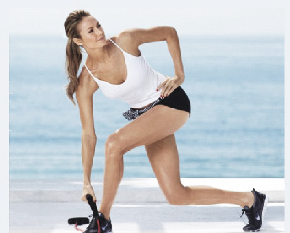 Stacy Keibler's Fitness Regimen