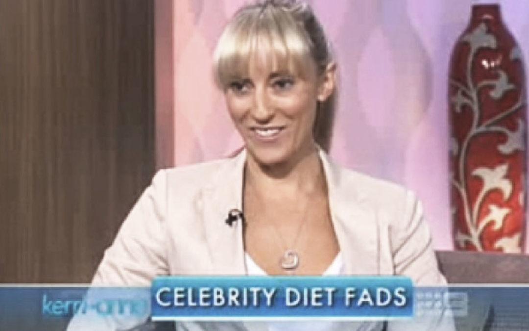 Celebrity Diet Fads on Kerri-Anne
