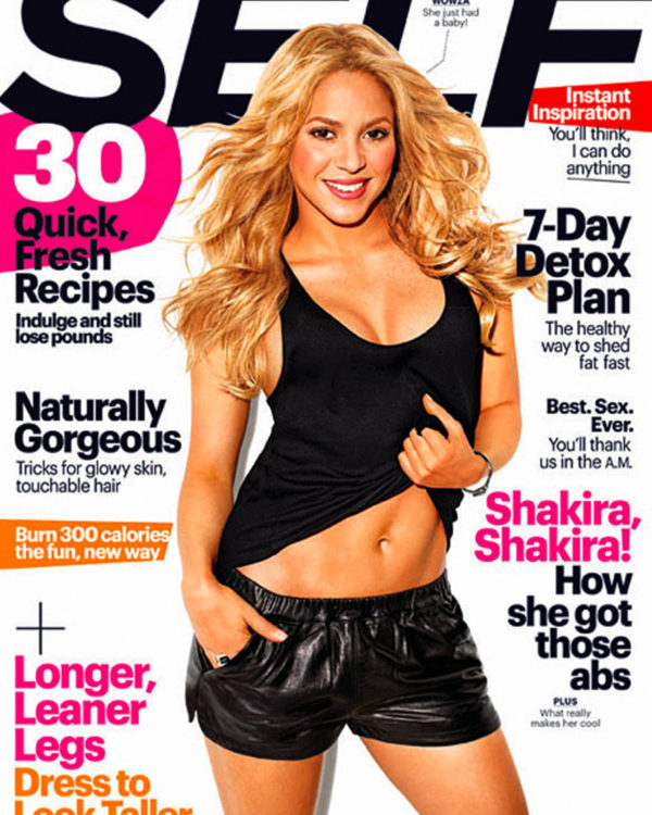 Shakira's Post-Baby Body - Minus The Pressure