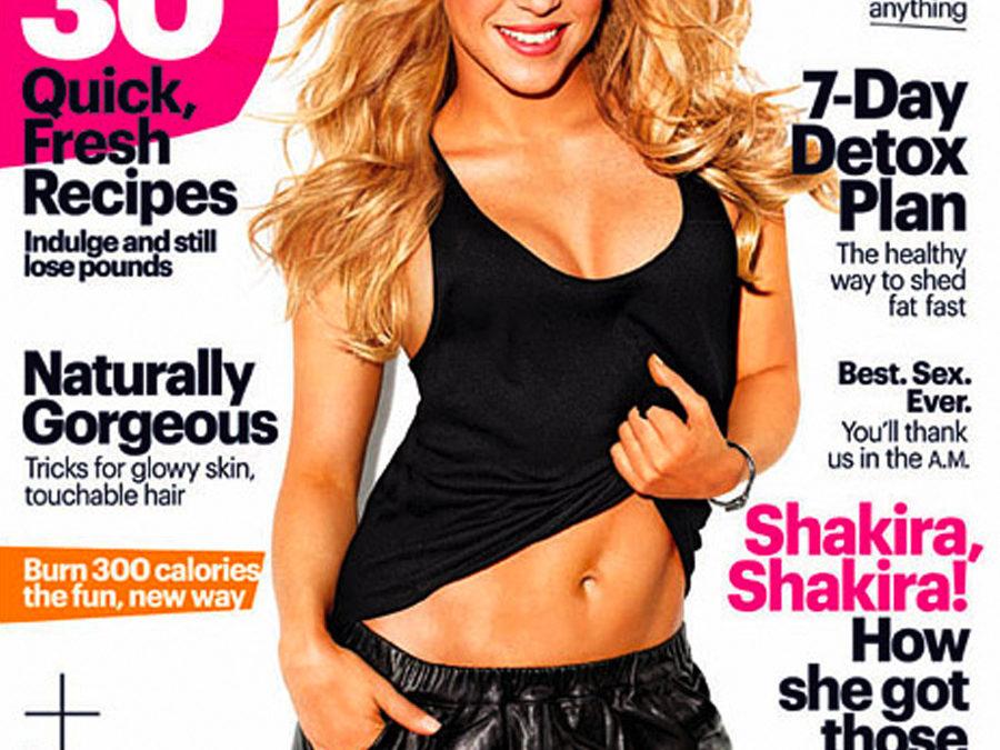Shakira's Post-Baby Body – Minus The Pressure