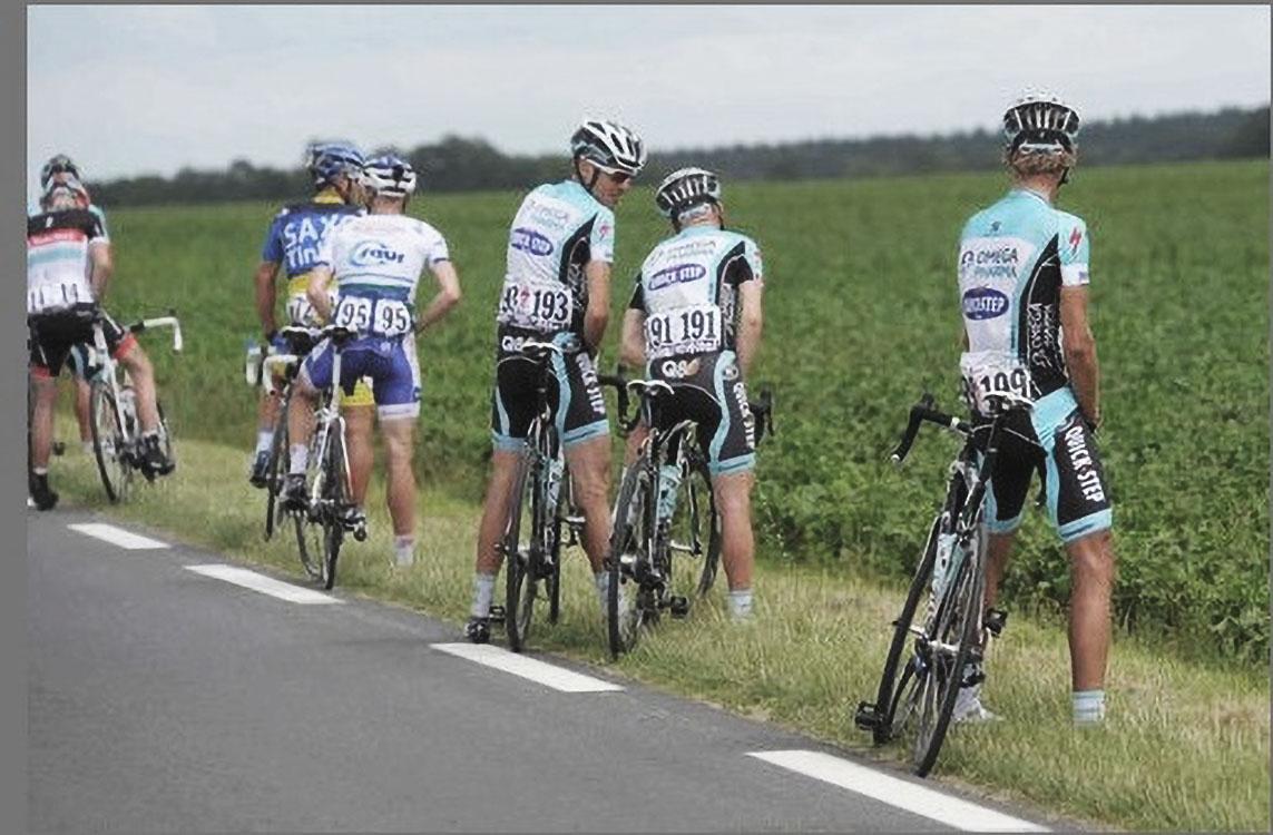 Tour De France: How Do They Pee?