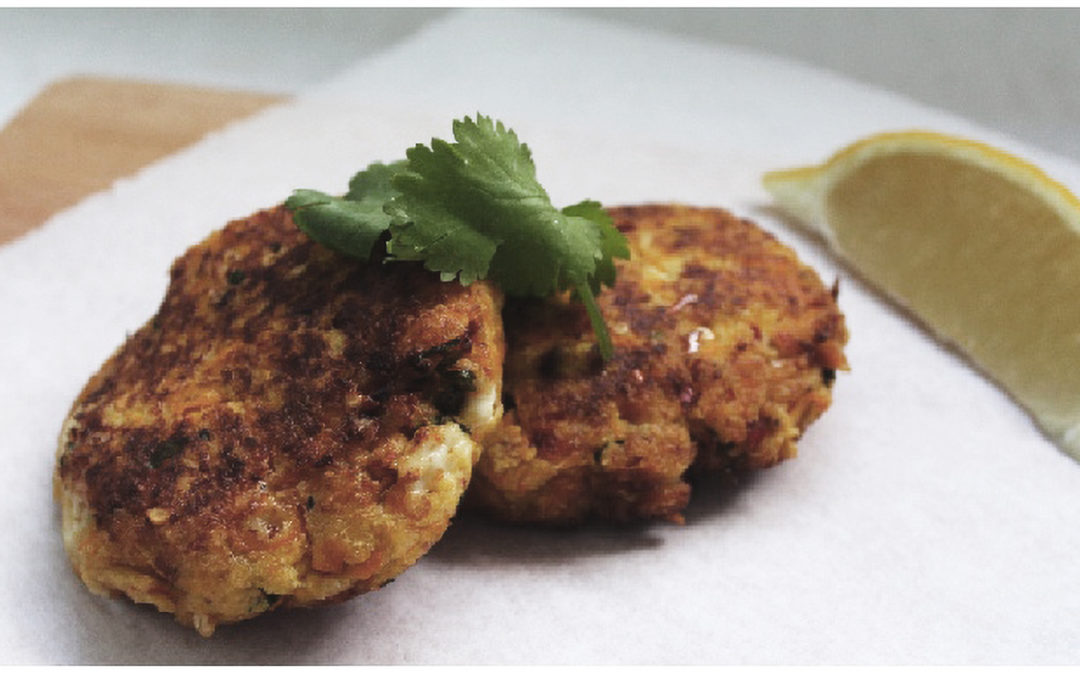 Recipe of the month: Pumpkin and Feta Fritters