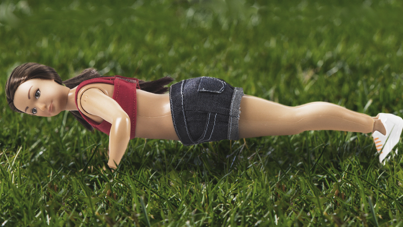 New 'Normal' Barbie: With Cellulite and Stretch Marks