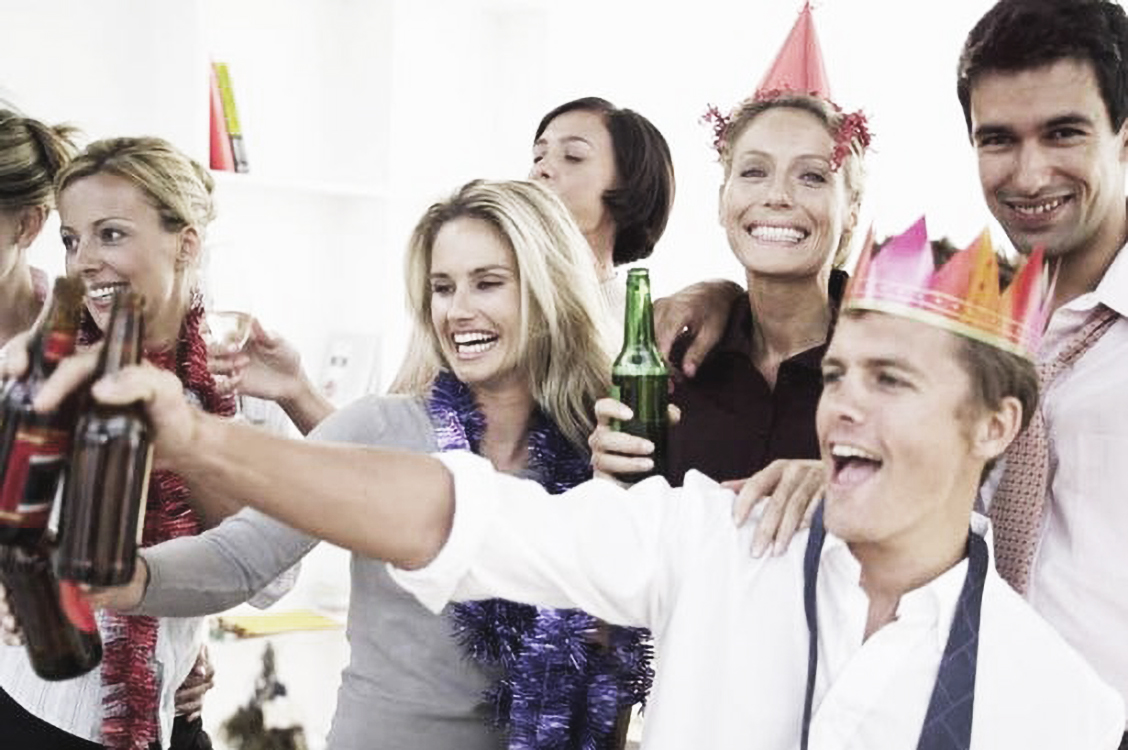 How to Survive Christmas Parties