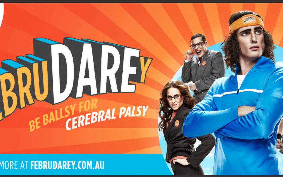 I'm Daring To Care This FebruDAREy for Cerebral Palsy League