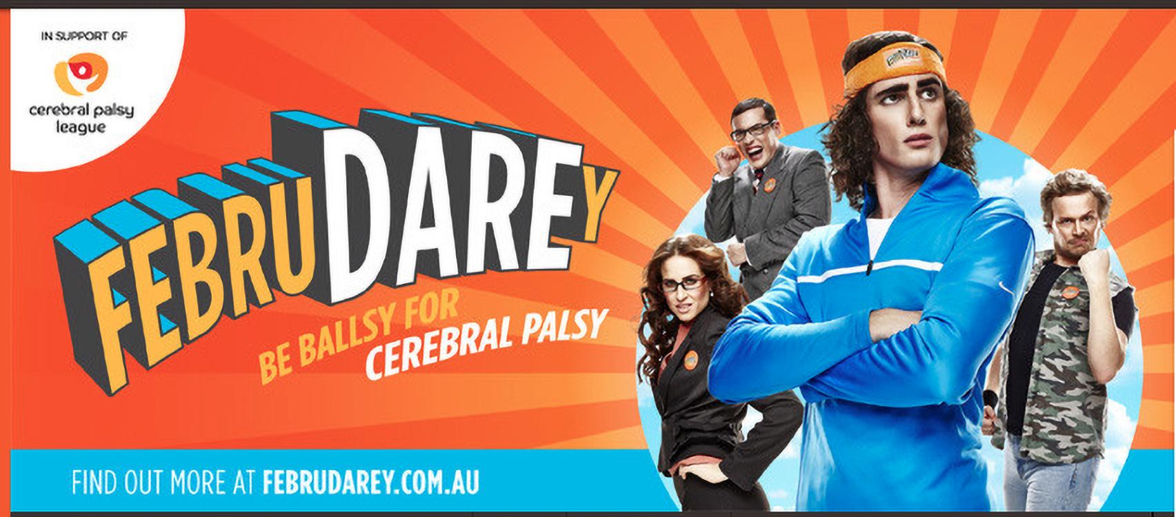 I'm Daring To Care This FebruDAREy for Cerebral Palsy League