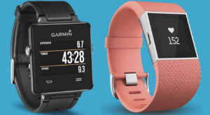 Garmin and Fitbit