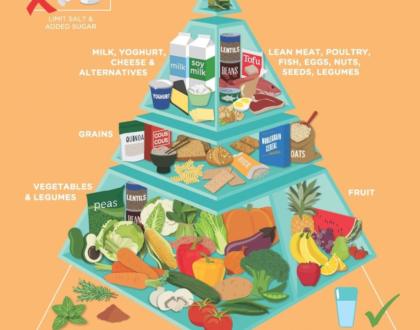 The NEW Food Pyramid is Official