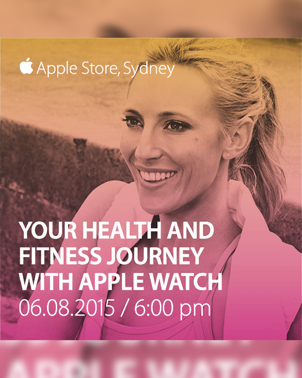 Talking Fitness & Apple Watch at The Apple Store - You're Invited