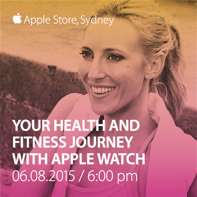 Talking Fitness & Apple Watch at The Apple Store – You're Invited