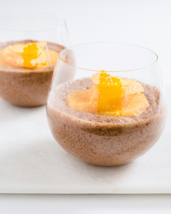Cacao Chia Puds